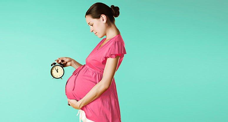 علائم فرا رسیدن زمان زایمان در خانم های باردار