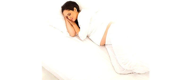 بهترین حالت خواب در بارداری